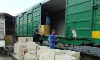 Dịch vụ vận chuyển container bằng đường sắt